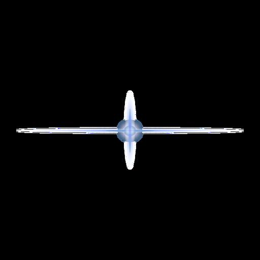 Parche de lente de mancha de luz de punto cruzado de haz de rayos de luz