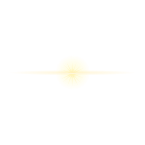 Lens patch of light speck of light ray beam star
