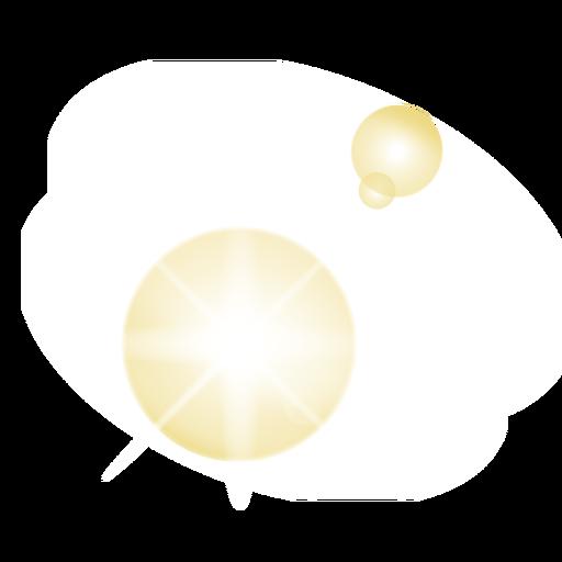 Parche de lente de mota de luz de punto de luz