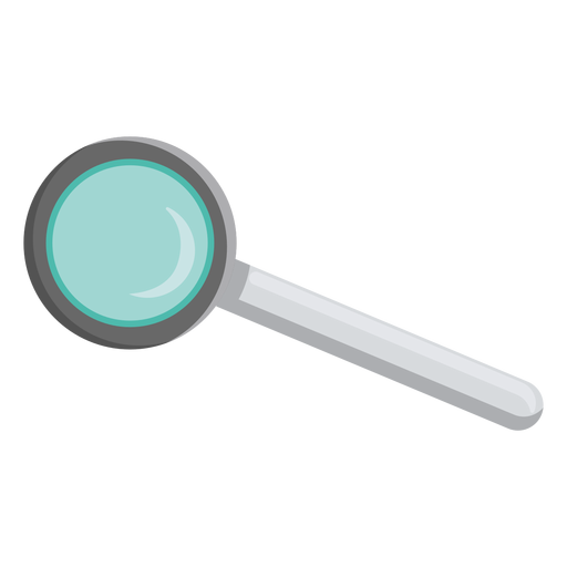 Loupe lens handle illustration
