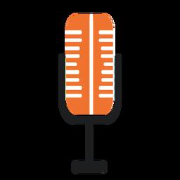 Micrófono de micrófono plano
