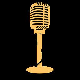 Microfone, microfone, ilustração