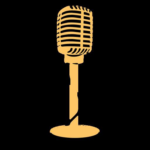 Ilustração do microfone do microfone
