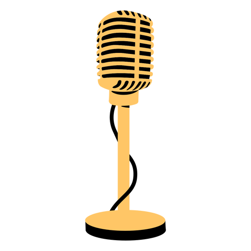 Microphone mike illustration Transparent PNG
