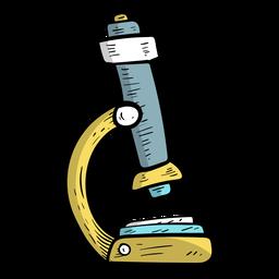 Mikroskop flach
