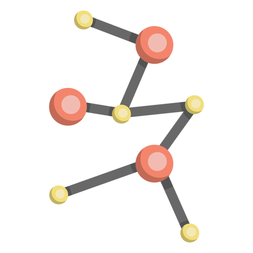 Molecule model cell illustration Transparent PNG