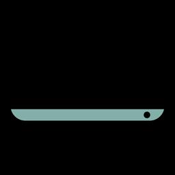 Icono de monitor de trazo