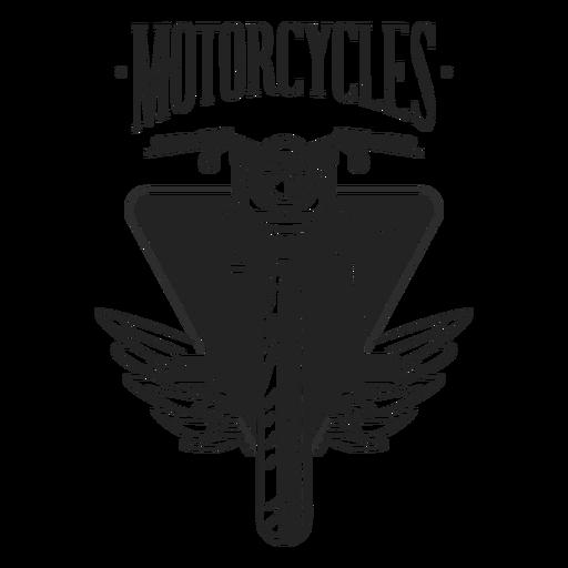 Motocycle wheel headlight badge