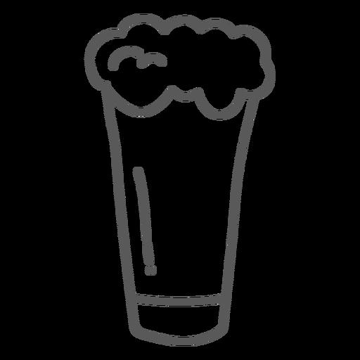 Doodle de cerveja de caneca Transparent PNG