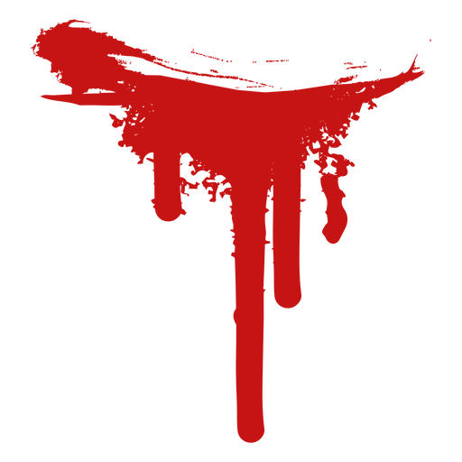 Murder paint blood silhouette Transparent PNG