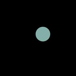 Icono de trazo de red