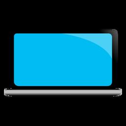 Ilustración de dispositivo portátil netbook portátil