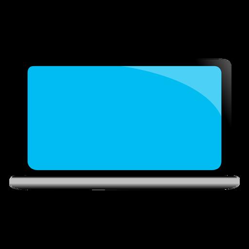 Ilustración de dispositivo portátil netbook notebook