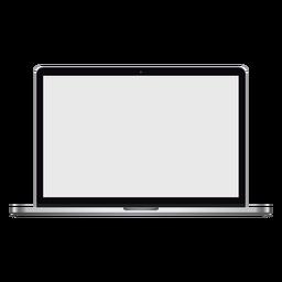 Ilustración de pantalla de computadora portátil portátil netbook