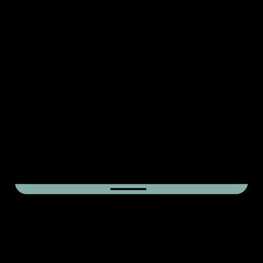 Icono portátil portátil trazo Transparent PNG