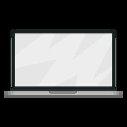 Ilustração de tela portátil notebook