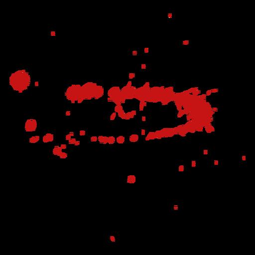 Paint blood splatter Transparent PNG