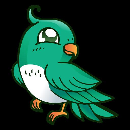 Papageienschnabel-Scheitelillustration Transparent PNG