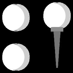 Peg ball flat