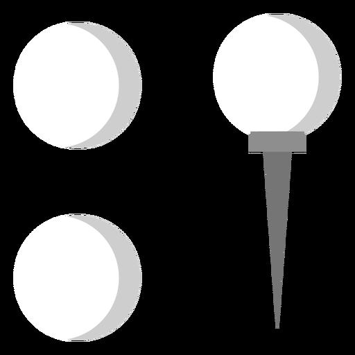 Peg ball flat Transparent PNG