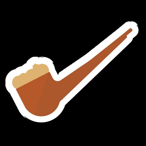 Autocolante de tabaco de cachimbo Transparent PNG