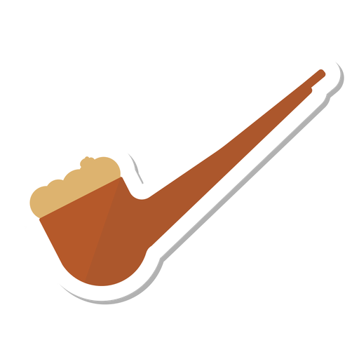 Pipe tabacco sticker Transparent PNG