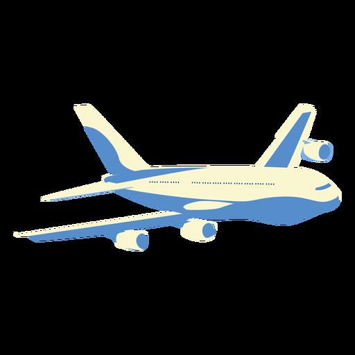 Plane aeroplane airplane illustration Transparent PNG