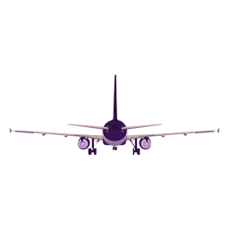 Avión avión avión avión timón ala ilustración