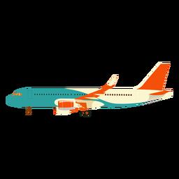 Avião avião ilustração de asa de avião