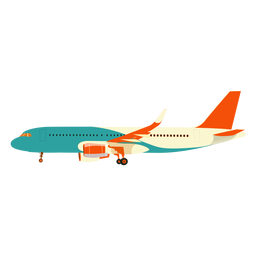 Plane aeroplane airplane wing illustration
