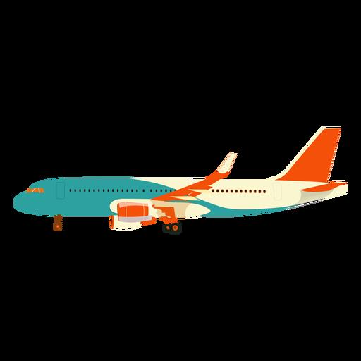 Plane aeroplane airplane wing illustration