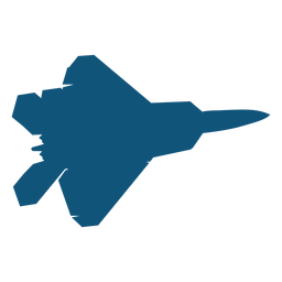 Plane fighter mig silhouette