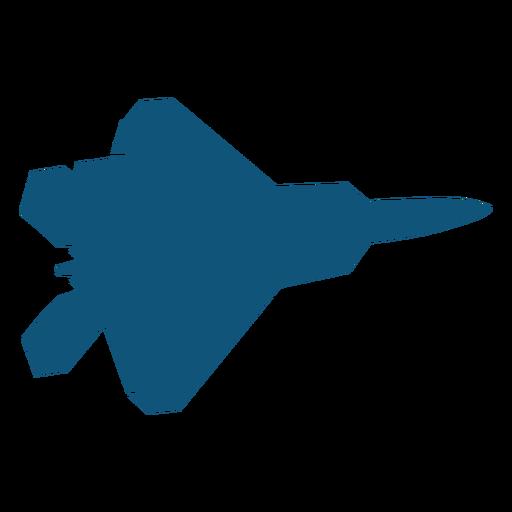 Silhueta de mig avião lutador Transparent PNG
