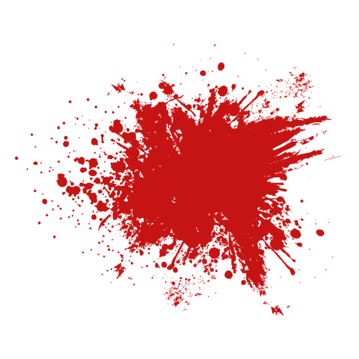 Gota de sangre de la gota de la piscina Transparent PNG