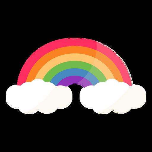 Regenbogenbogenbogen flach Transparent PNG