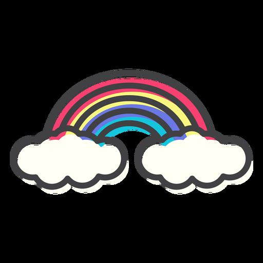 Regenbogenbogenbogenanschlag Transparent PNG