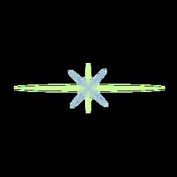 Ray-Spot-Linsenfleck aus Lichtfleck des Lichtstrahls