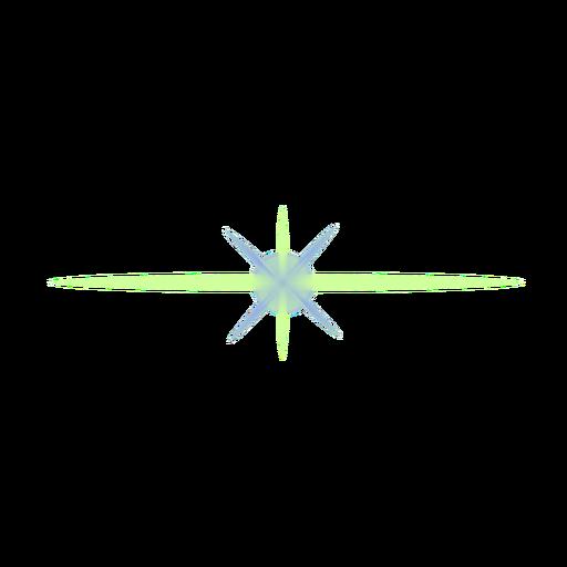 Remendo da lente do ponto de Ray da mancha clara do feixe luminoso Transparent PNG