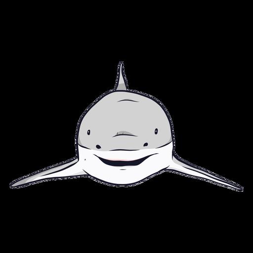Ilustración de aleta de tiburón Transparent PNG