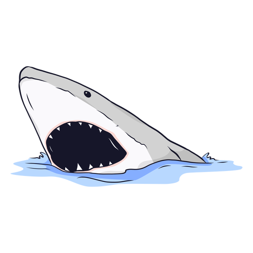 Shark mouth jaw tooth sea illustration Transparent PNG