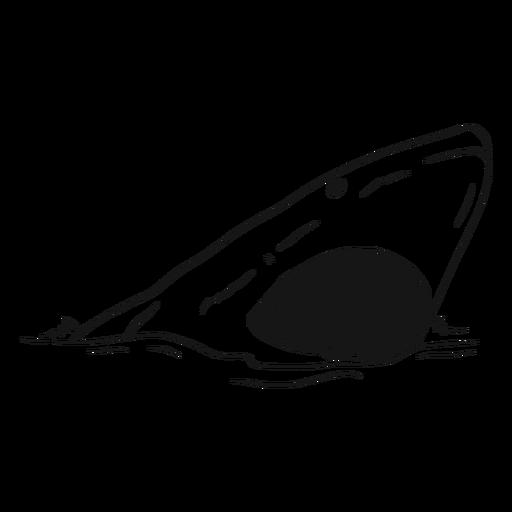 Boceto boca boca tiburón diente mar Transparent PNG