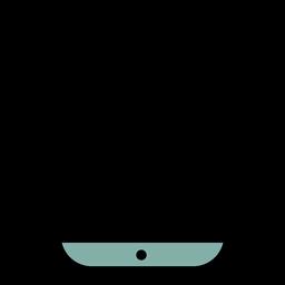 Curso de ícone de smartphone
