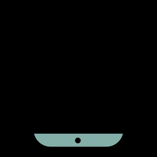 Icono de trazo de smartphone Transparent PNG