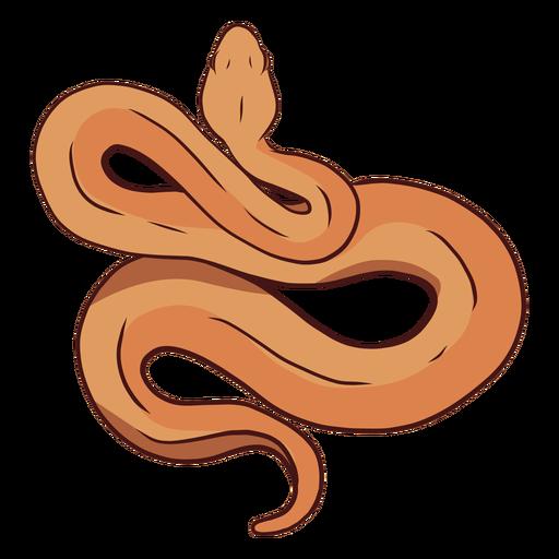 Serpiente torciendo ilustración Transparent PNG