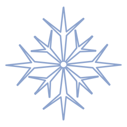 Snowflake cold stroke