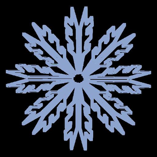 Golpe de invierno copo de nieve Transparent PNG