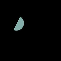 Traço do ícone do satélite espacial