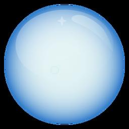 Esfera burbuja círculo ilustración