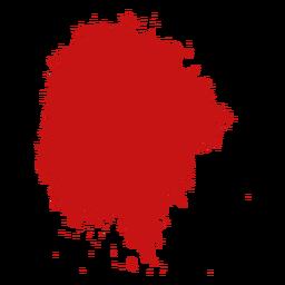 Fleck malen Blutspritzer