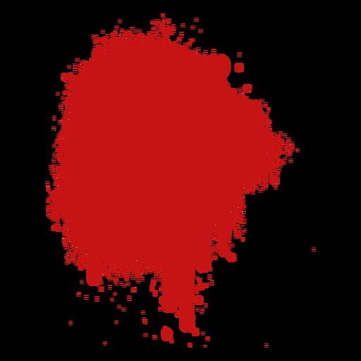 Spot paint blood splatter